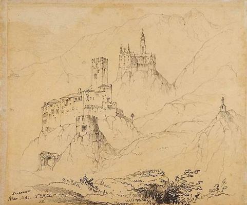John Ruskin. Fortress in Tyrol
