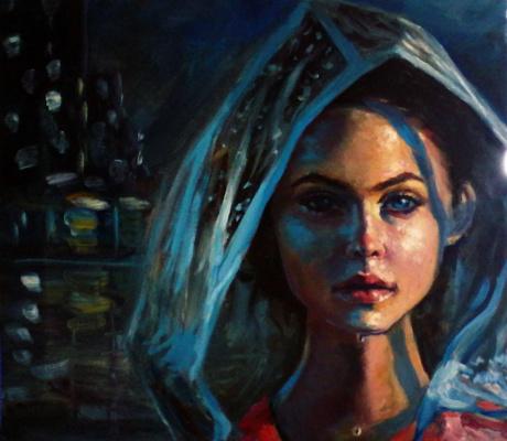 Olga Suncheleeva. Under rain
