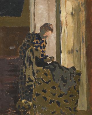 Жан Эдуар Вюйар. Мари Броссант у окна