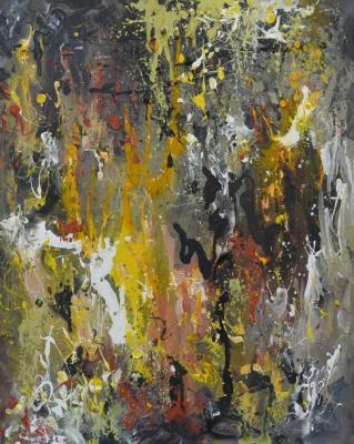 Tanya Vasilenko. A passionate desire. Acrylic. Canvas. Desire.Acrylic on Canvas.