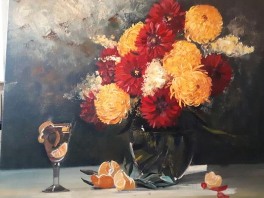 Александр Сергеевич Кривонос. Chrysanthemums