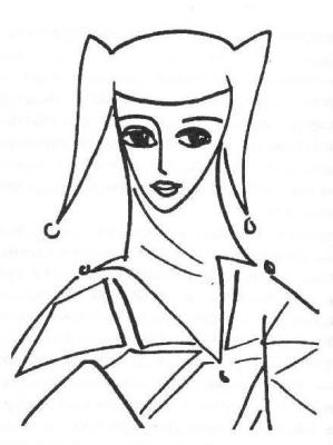 Nadezhda Nikolaevna Rusheva. Jester