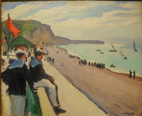 Albert Marquet. The beach in Pecane