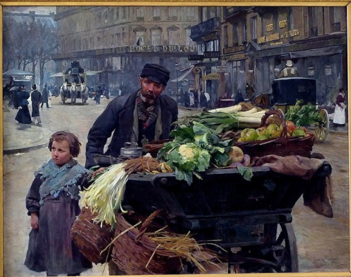 Мари Луи де Шриве. Зеленщик. 1895