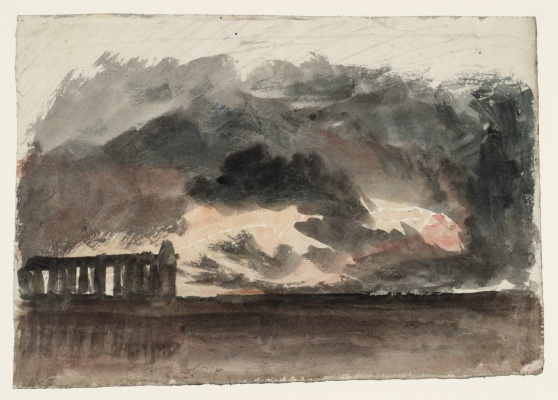 Joseph Mallord William Turner. Paestum