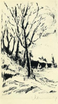 Морис де Вламинк. Дерево