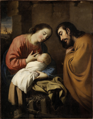 Francisco de Zurbaran. Holy family
