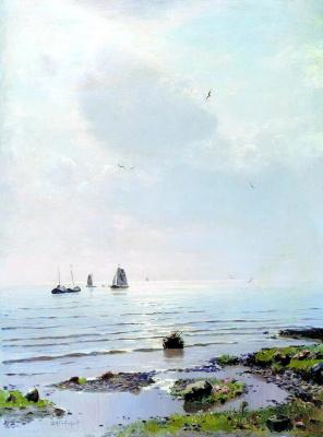 Николай Никанорович Дубовской. Ладожское озеро