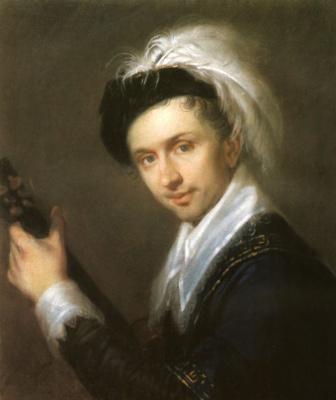 Alexey Gavrilovich Venetsianov. Portrait Of I. V. Buhaevsky-Grateful