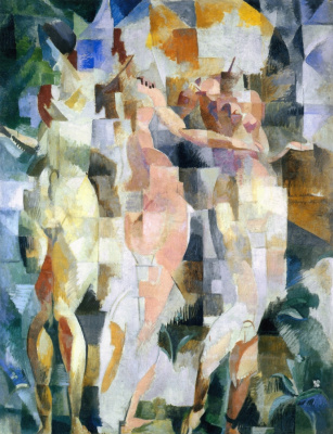 Robert Delaunay. The three graces