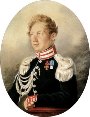 Сергей Гаврилович Чириков. Портрет Боголюбова
