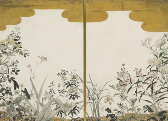 Tsuguharu Foujita (Léonard Fujita). Flowers