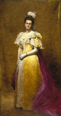 Carolus-Durand. Portrait Of Emily Warren Roebling