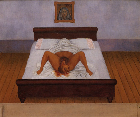 Frida Kahlo. My birth