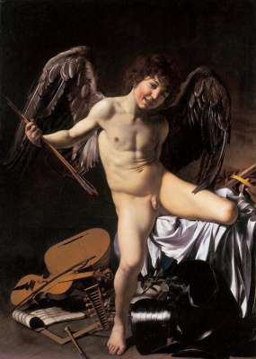 Michelangelo Merisi de Caravaggio. Amour-Winner