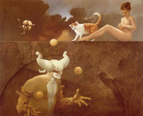 Michael Parkes. Juggler