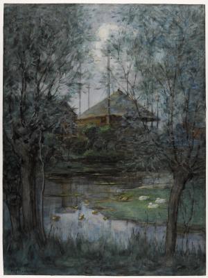 Piet Mondrian. Landscape
