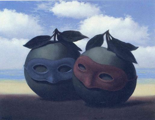 René Magritte. Hesitation waltz