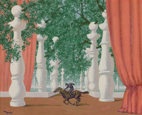 René Magritte. Le jockey perdu