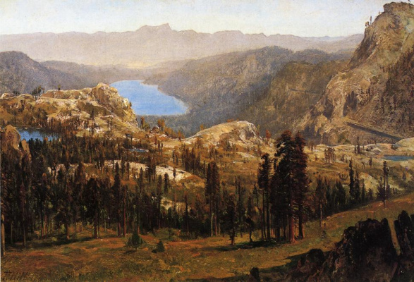 Thomas Hill. Lake