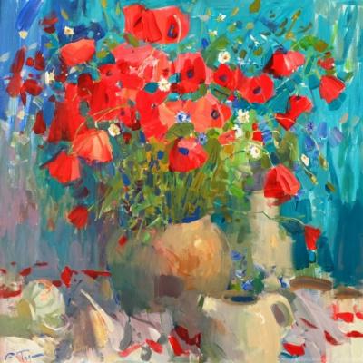 Alexander Vladimirovich Gorbikov. Poppies
