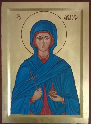 Badri bukia. Icon of sv. Marfa