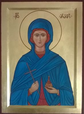 Badri bukia. Icon of sv. Marfa