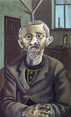 Otto Dix. Portrait of a bearded man