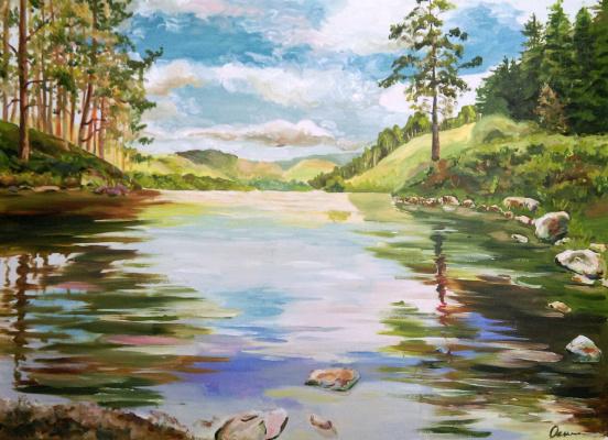 Ekaterina Viktorovna Osipovich. Lake
