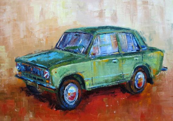 Dariya Zakharova. VAZ 2101