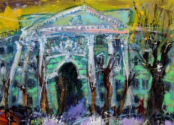 Ilya Pavlovich Spichenkov. Wangogowski trees