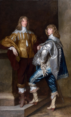 Anthony van Dyck. Lord John Stuart and his brother Lord Bernard Stuart