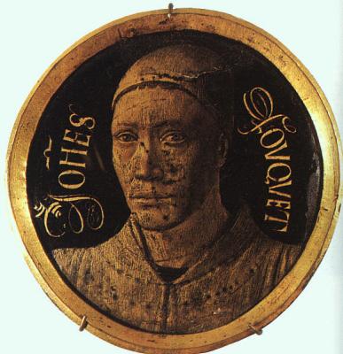Jean Fouquet. Self-portrait