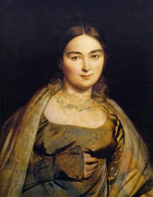 Jean Auguste Dominique Ingres. Madeleine Ingres