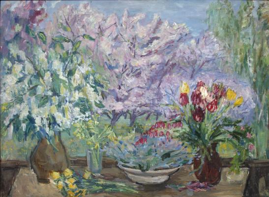 Надежда Андреевна Удальцова. Весна в деревне