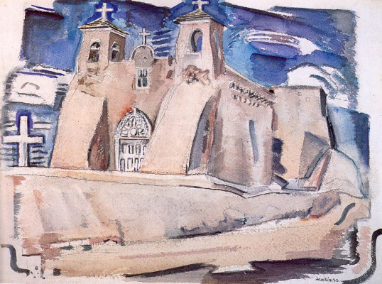 Джон Марин. Церковь