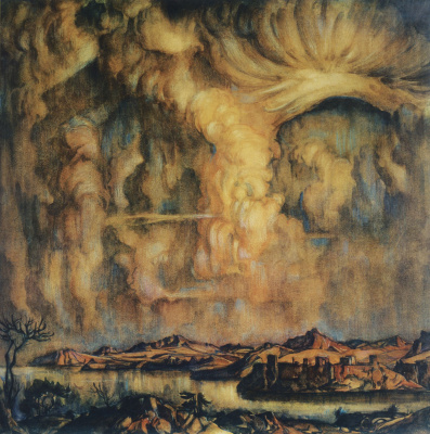 Konstantin Fedorovich Bogaevsky. Cloud