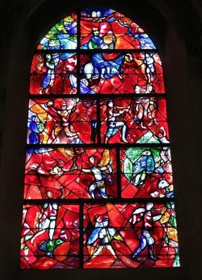 Марк Захарович Шагал. Витраж кафедрального собора в Чичестере, Великобритания