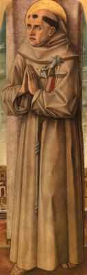 Carlo Crivelli. St. Anthony of Padua