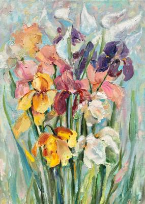 Natalia Shlyakhova. Irises