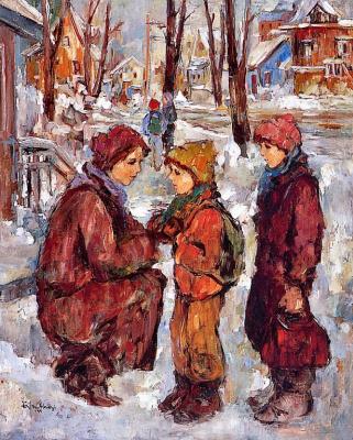 Ева Мосонуи. Мать с детьми