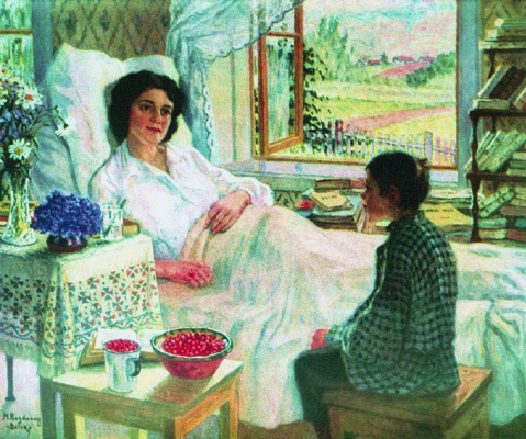 Nikolay Petrovich Bogdanov-Belsky. The patient teacher