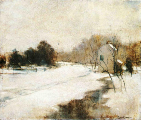 John Henry Twachtman. Winter in Cincinnati