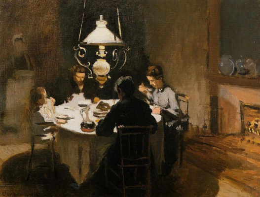 Claude Monet. Lunch
