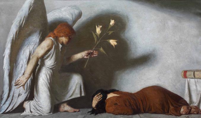 Heliy Mikhailovich Korzhev. The Annunciation