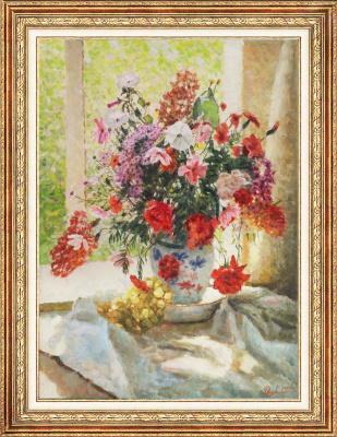 Igor Razzhivin. Sunny bouquet.