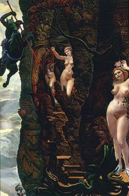 Ernst Fuchs. Hunter a heart of gold