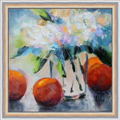 Olesya Alexandrovna Lopatin. Orange mood
