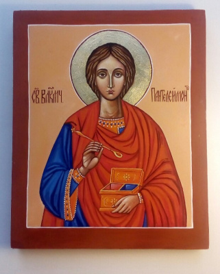 Catherine Satulina. Holy Great Martyr Panteleimon