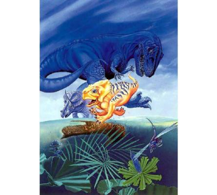 Блу Террелл. Маленький динозаврик